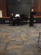 Piano - Fofi Panagiotouros (Director of Community Outreach) Joy Gann - Soprano