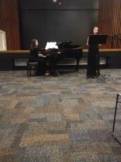 Piano - Fofi Panagiotouros (Director of Community Outreach) Joy Gann - Soprano