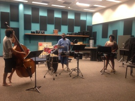 Rehearsal for Bass-Drum